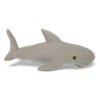 Tubarão Branco Pelúcia - Bichos de Pano