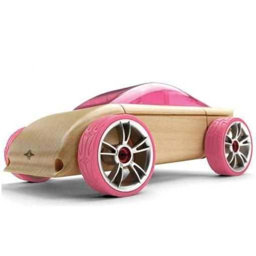 Carro Esporte Rosa C9 - Automoblox